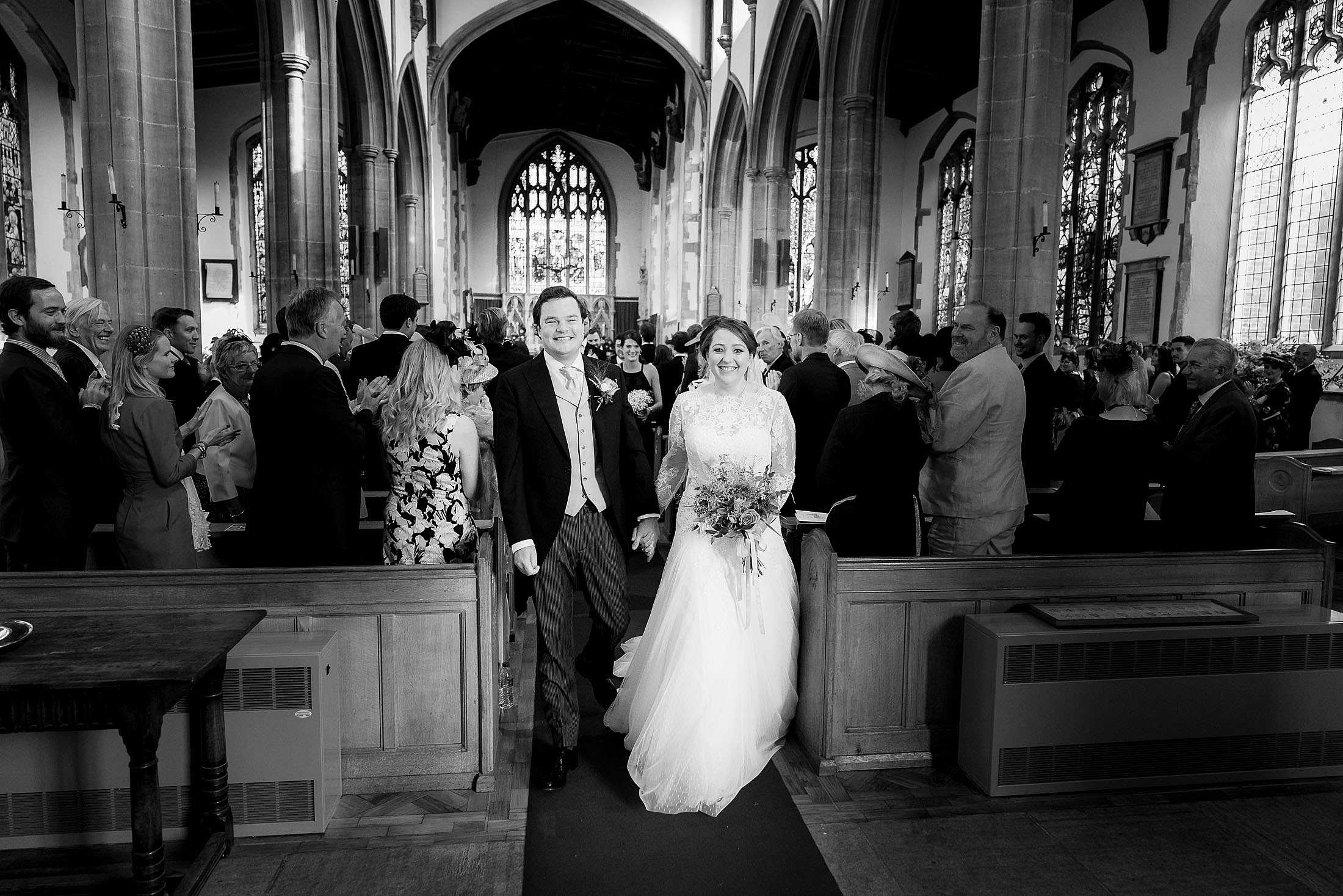 Hintlesham Hall wedding photos of Nicky & George