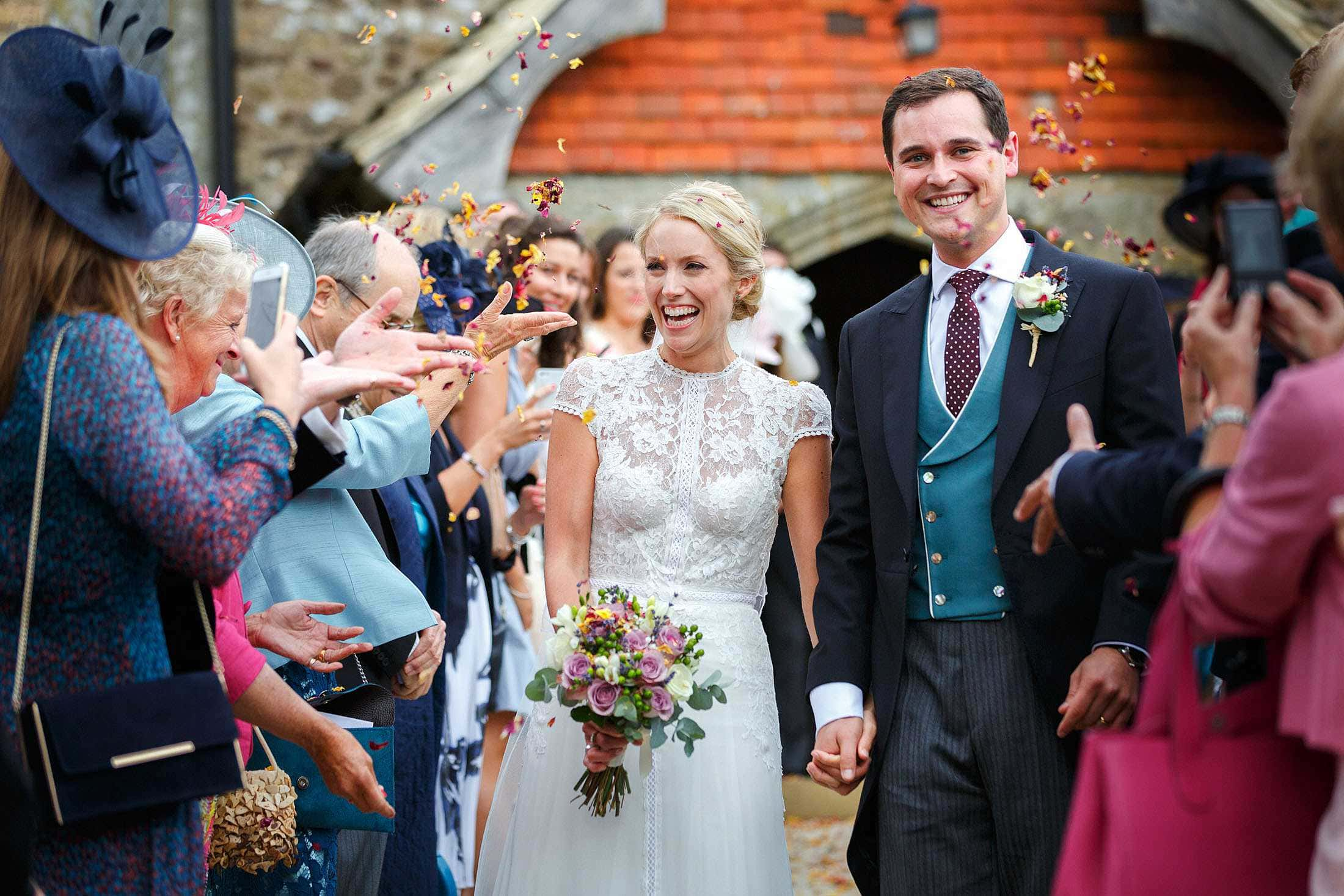 West Sussex marquee wedding photography of Ellie & Ed