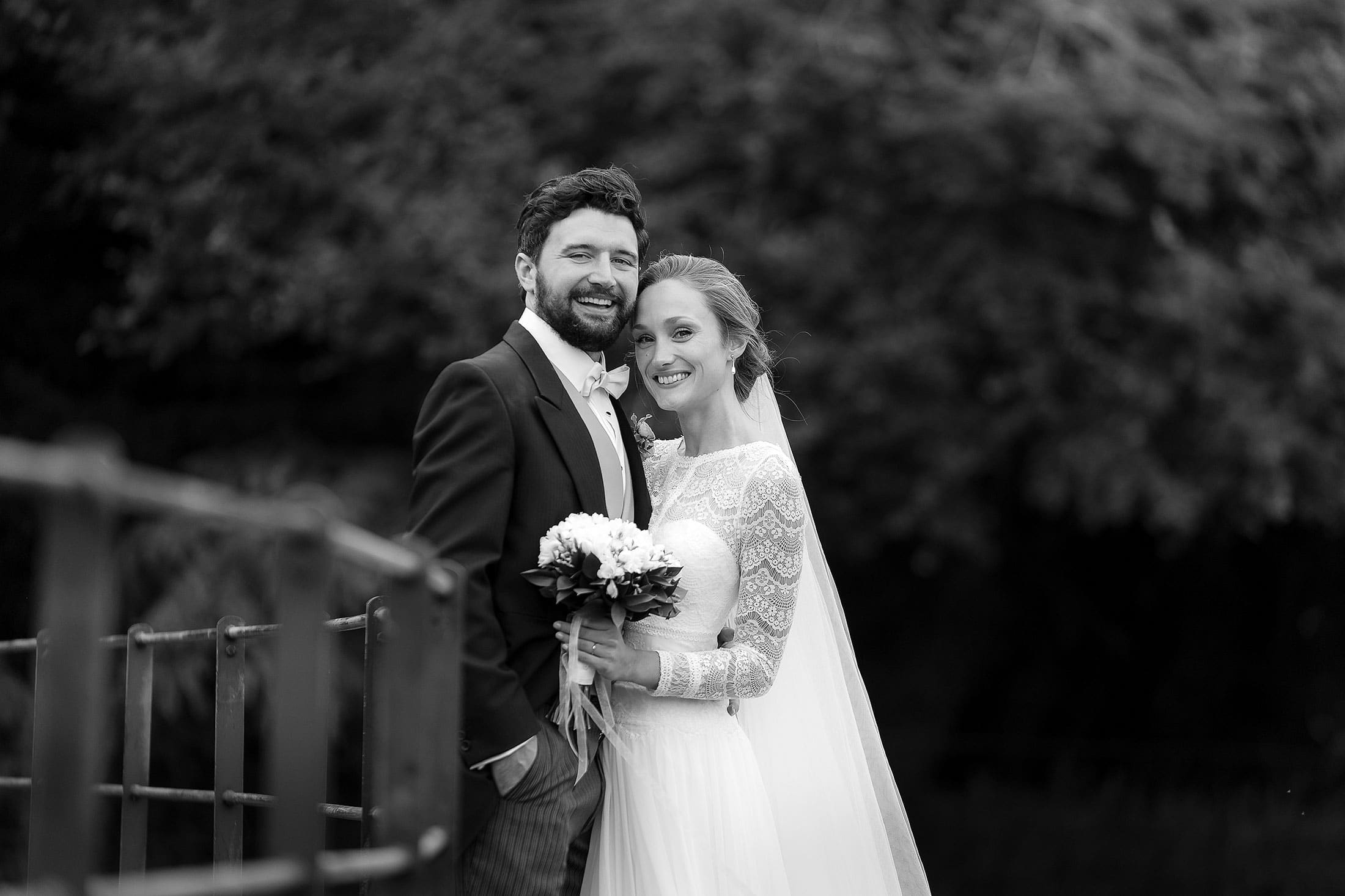 Suffolk Barn wedding photographer of Lucy & Max