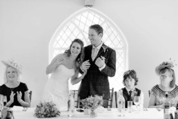 Shepherds Cottage wedding speeches