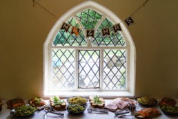 Shepherds Cottage wedding meal