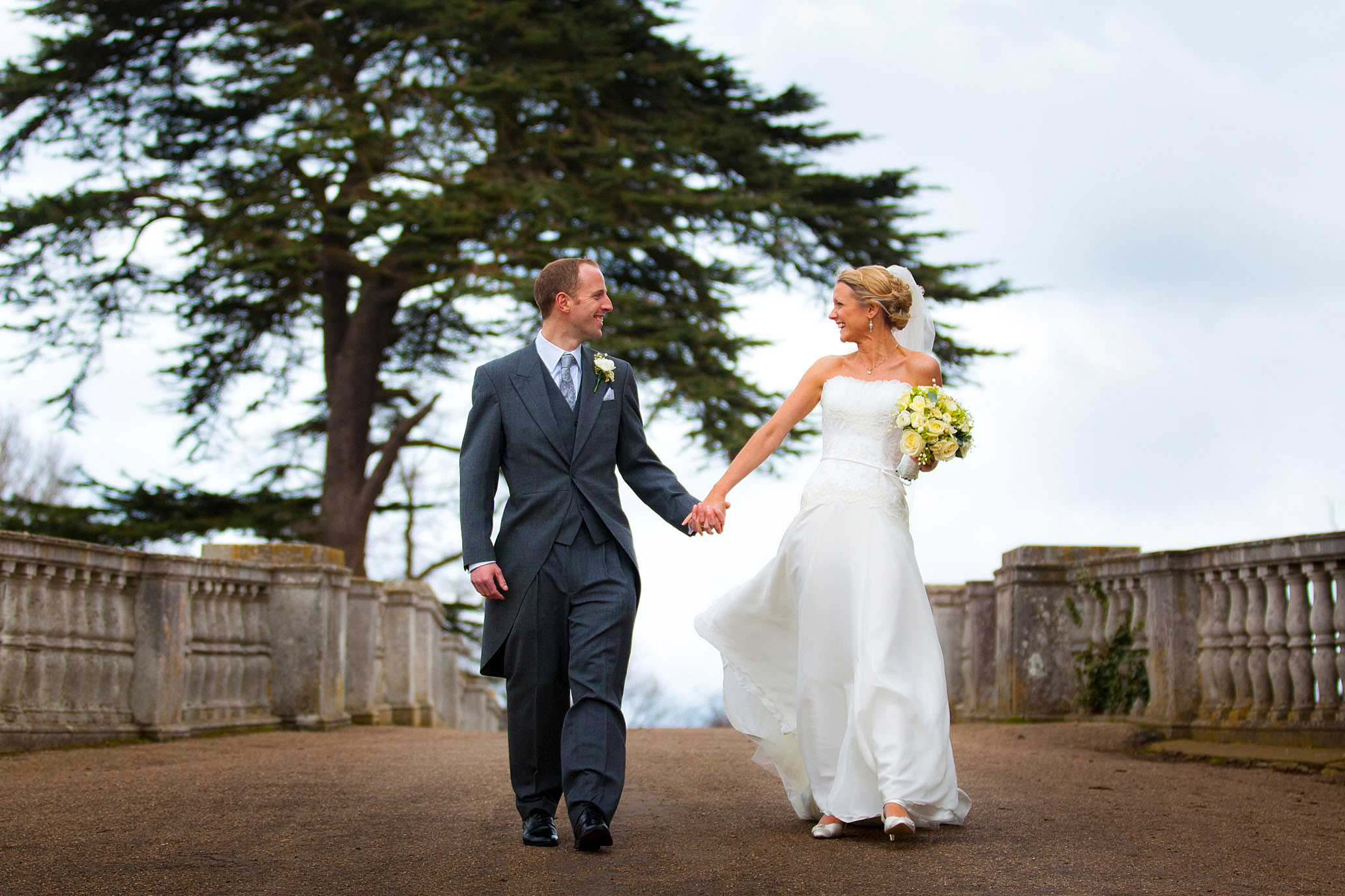 Brocket Hall wedding of Helen and Toby