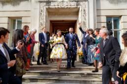 Wandsworth Town Hall wedding confetti