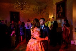 Cambridge Cottage wedding dance