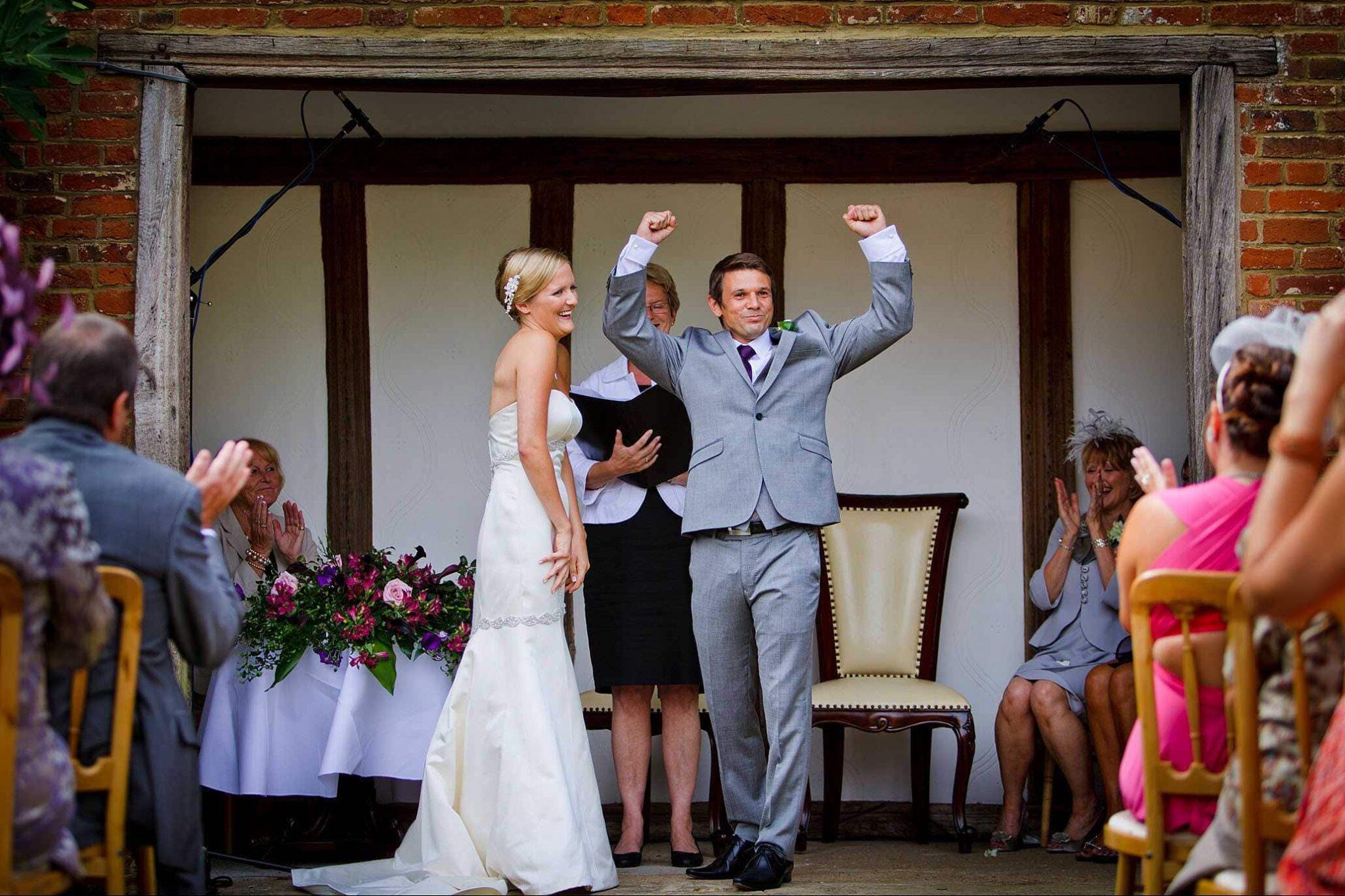 Woodhall Manor wedding of Rosie & Jamie