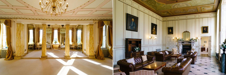 interior Gosfield Hall wedding venue