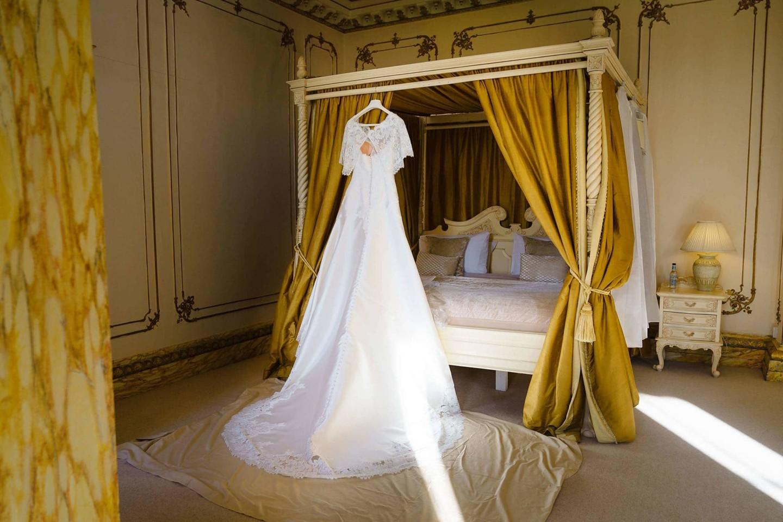 Gosfield Hall wedding dress