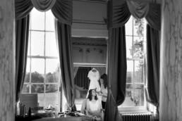 Bridal preparations at Gosfield