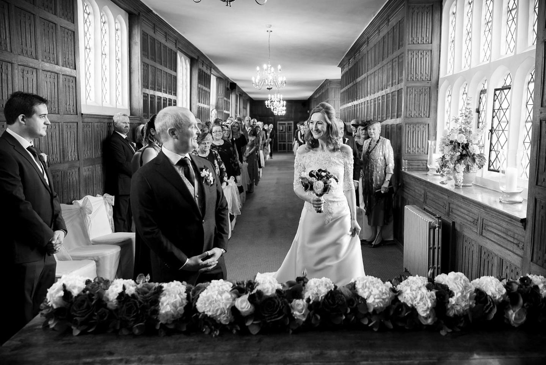 wedding ceremony in Queens Gallery