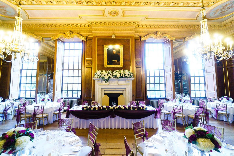 Gosfield Hall ballroom