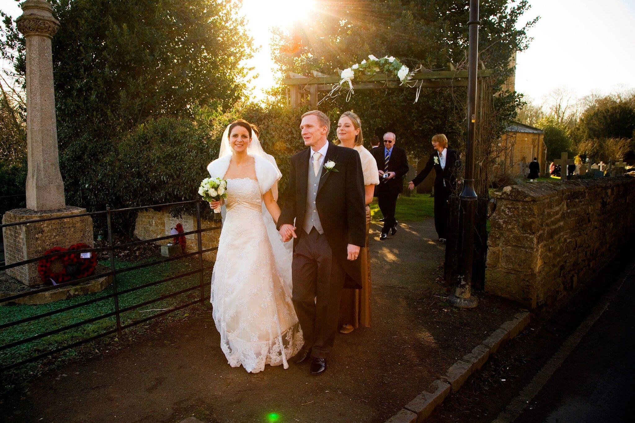 Rushton Hall wedding photos of Lisa & Ian