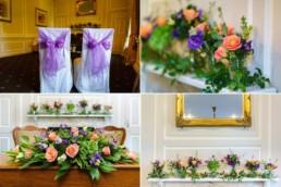 wedding flowers Hintlesham Hall