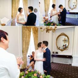 civil ceremony Hintlesham Hall