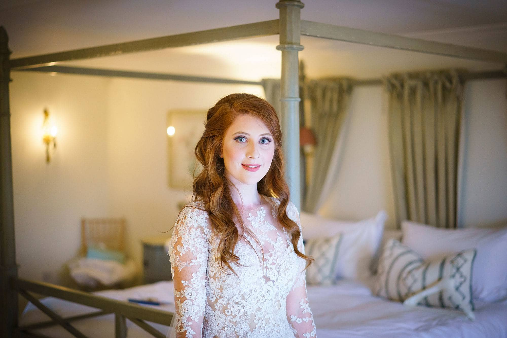 bride at old hall ely