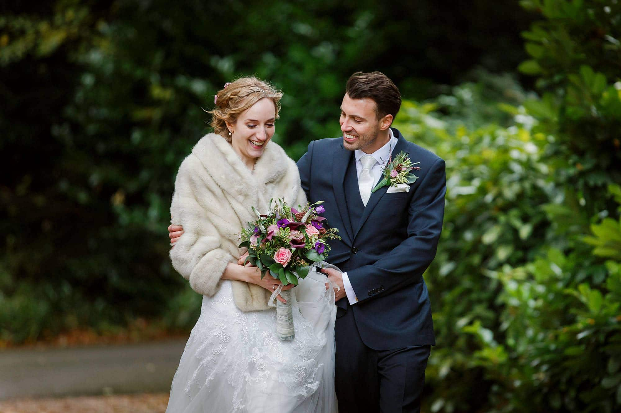 Prestwold Hall wedding photographer of Louise & James