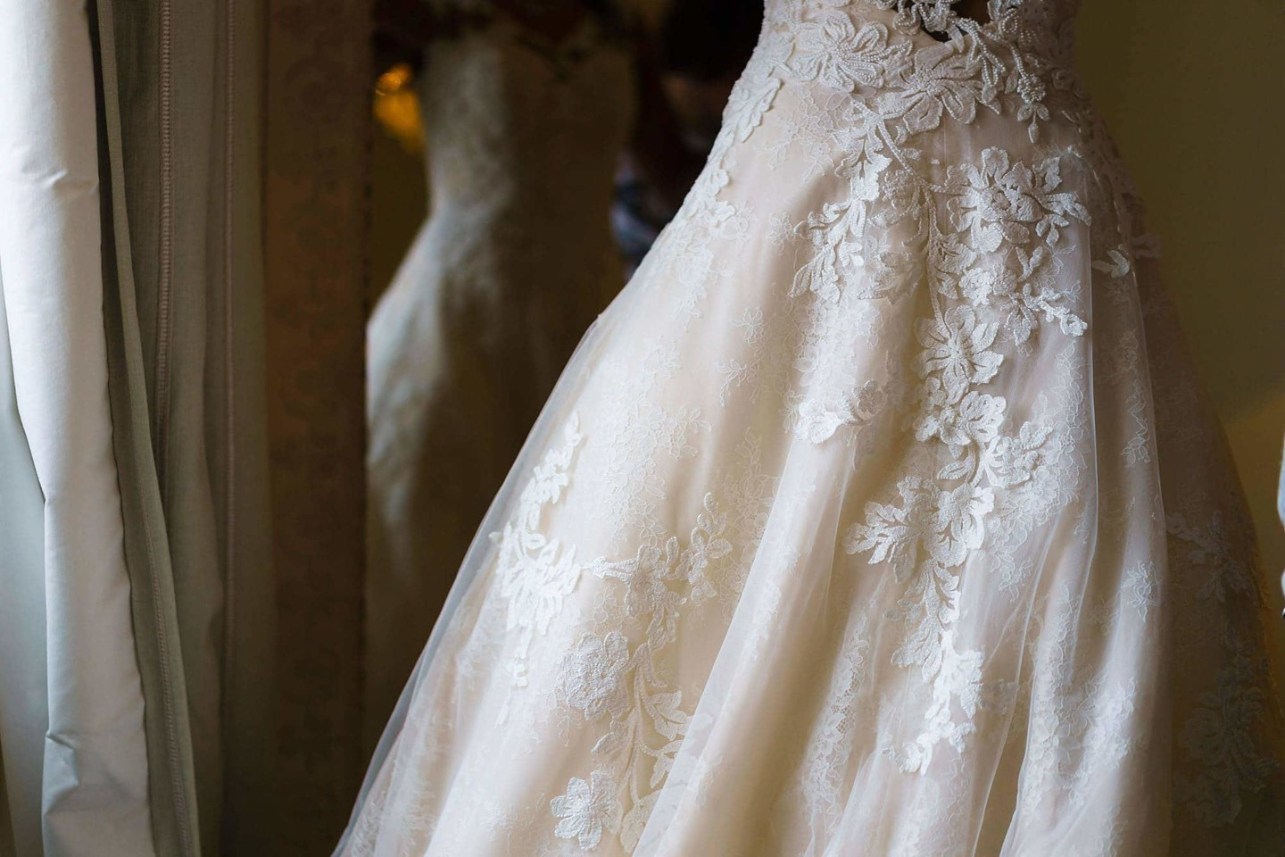 Bridal gown for sibton