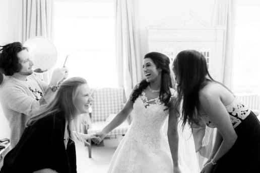 Bridesmaids in Sibton