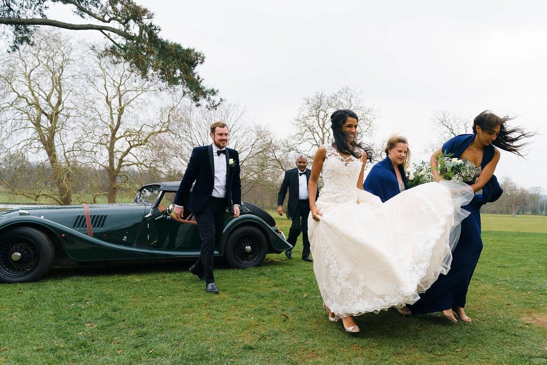 Sibton winter wedding