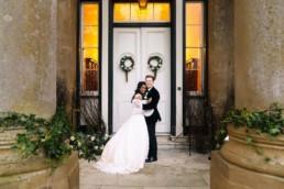 winter wedding Sibton Park