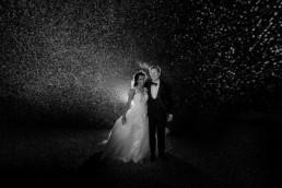winter wedding at Wilderness Reserve
