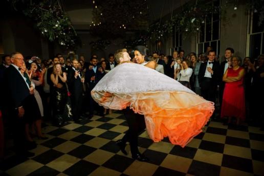 First dance Sibton Park wedding photos