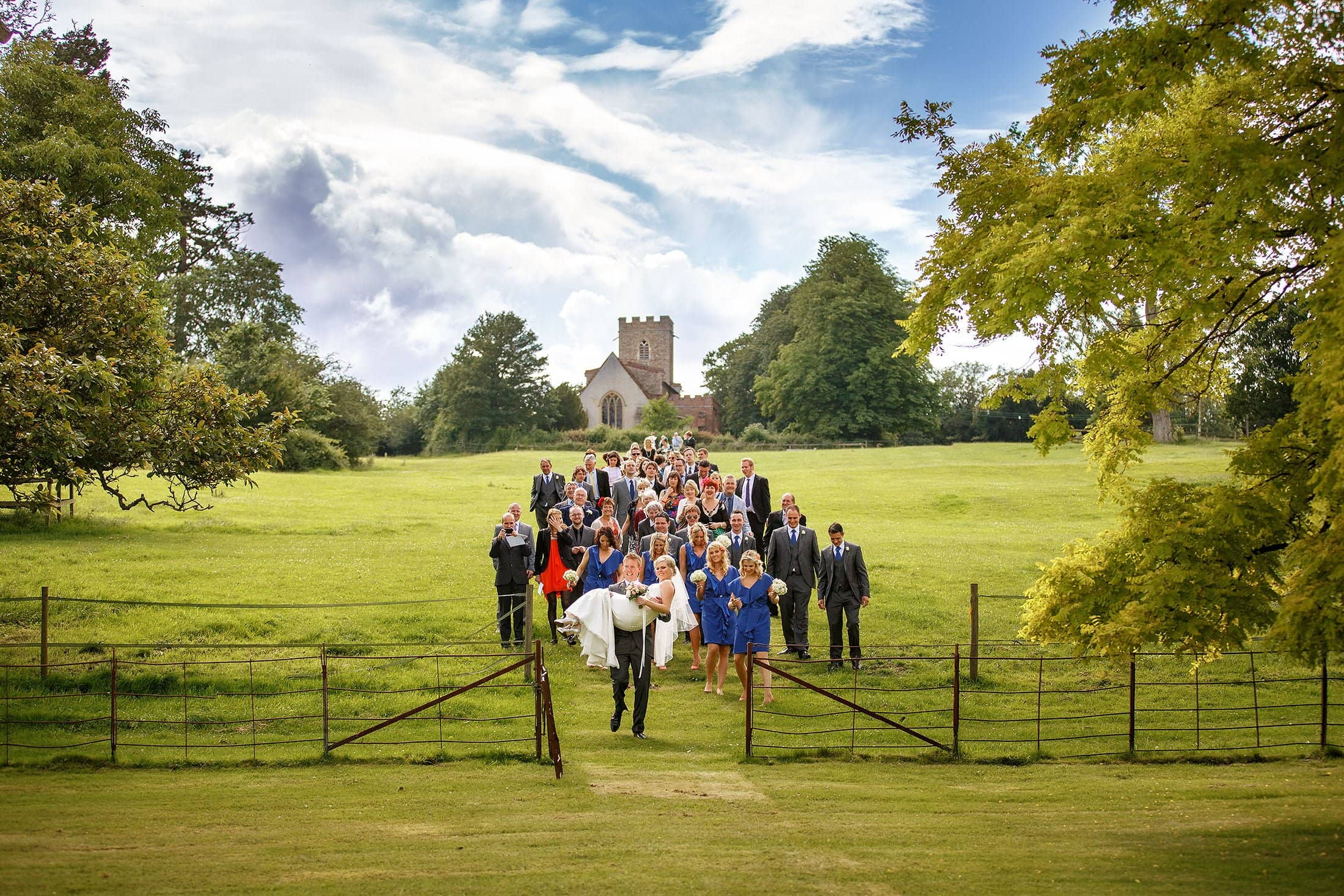 Boxted Hall wedding photography of Becky & Rob