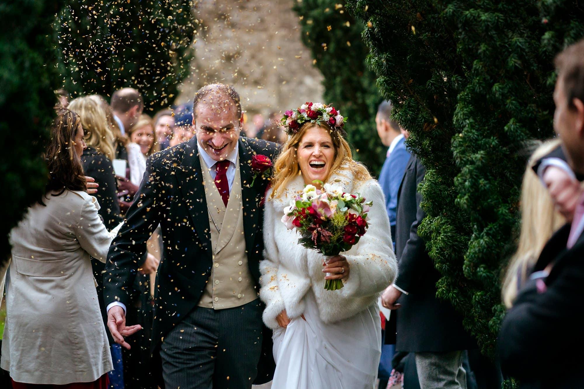 Fulham Palace wedding of Caroline & Jamie