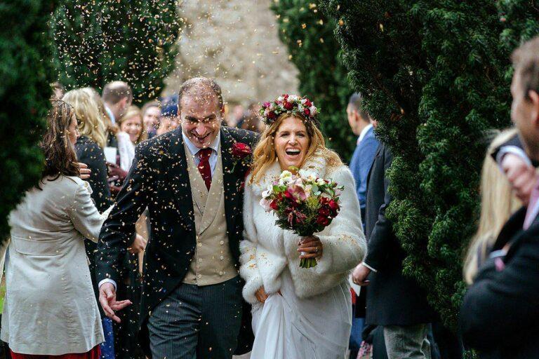 Fulham Palace winter wedding