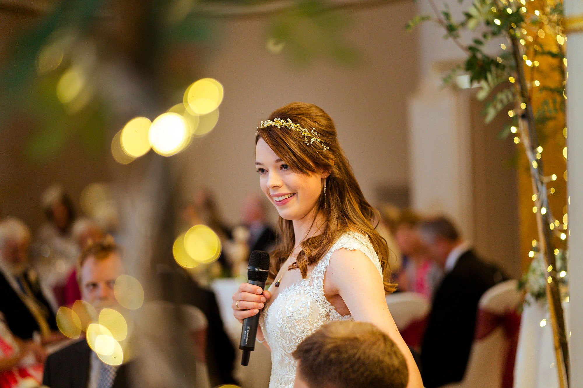 Lansdowne wedding brides speech