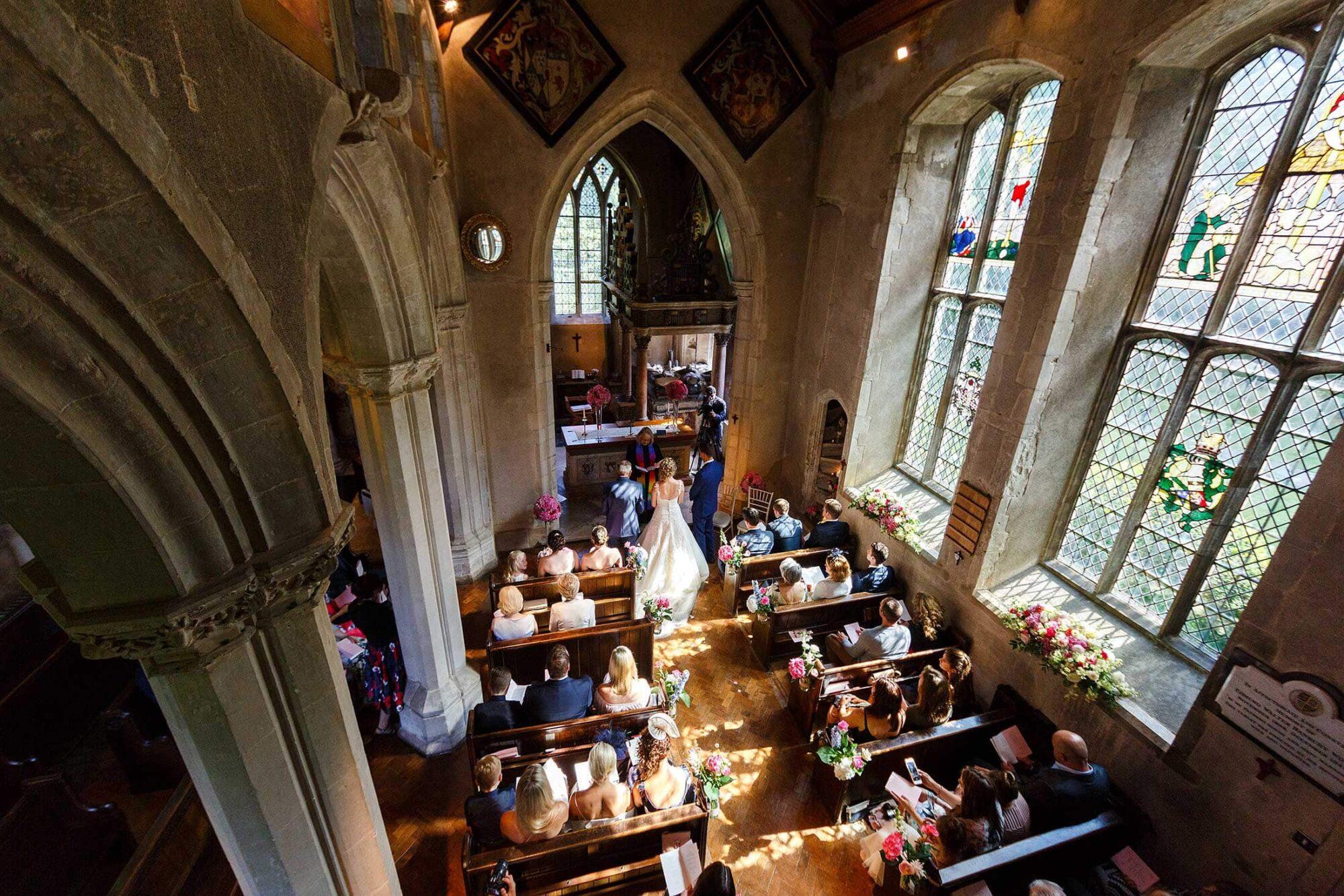 Caroline & Stephen's Hengrave wedding