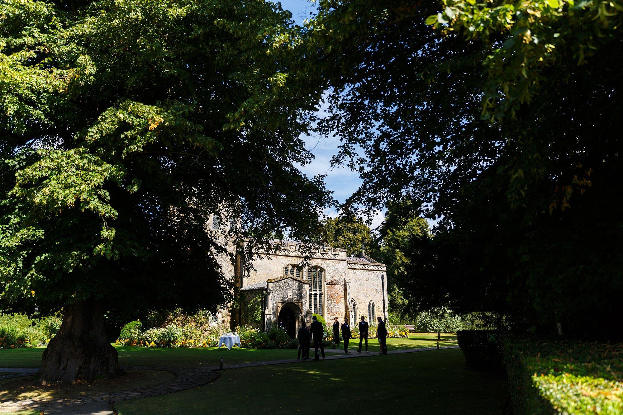 Hengrave wedding chapel