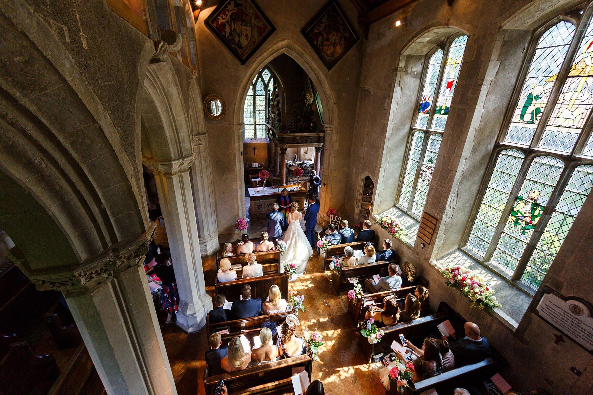 Hengrave wedding