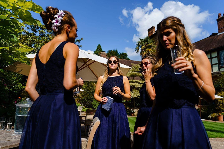 Bridesmaids at Ramster Hall