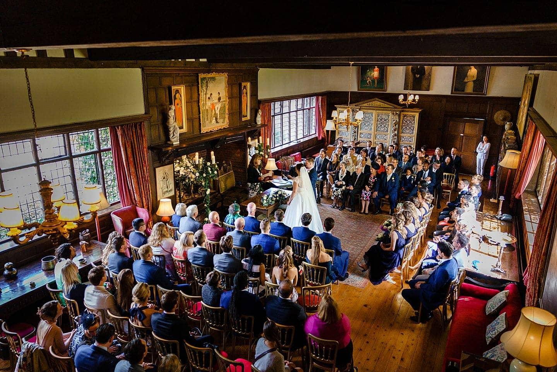 Ramster Hall wedding ceremony