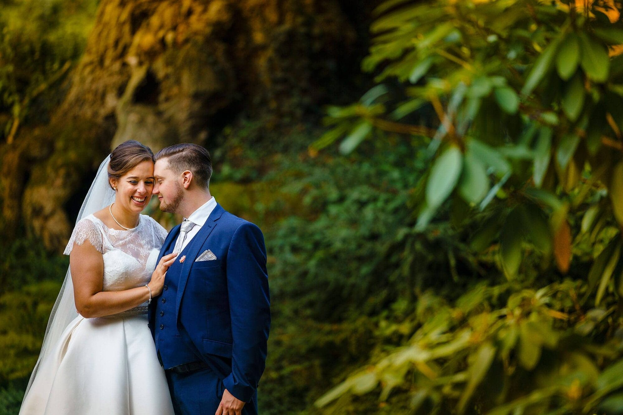 Ramster Hall wedding of Nadia & Will