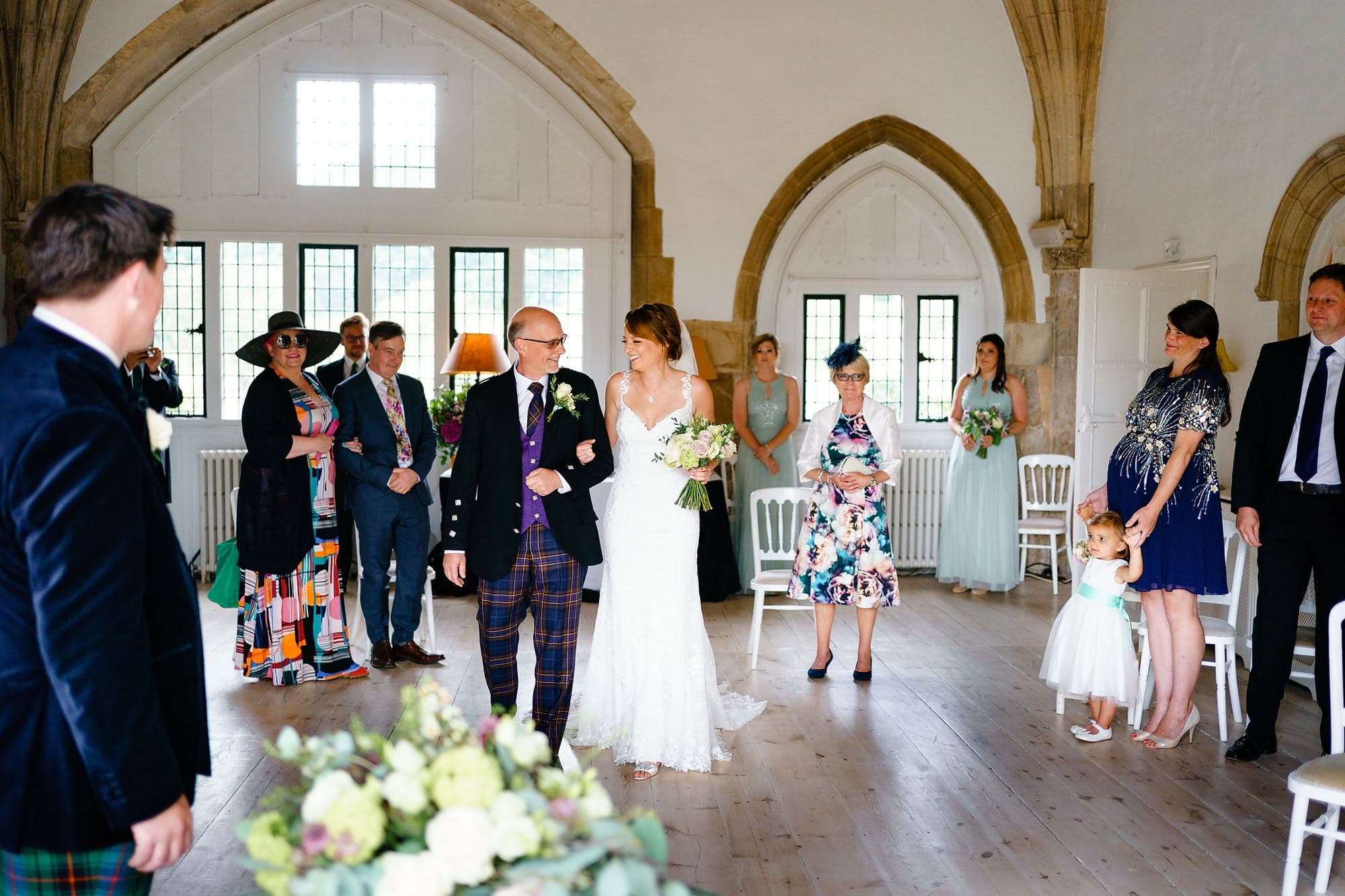 Covid wedding at Butley Priory