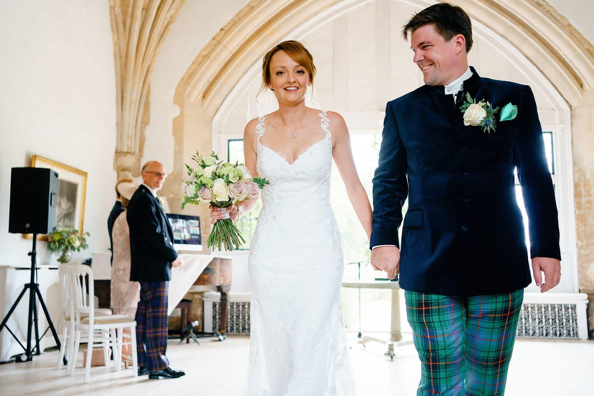 Intimagte Butley wedding