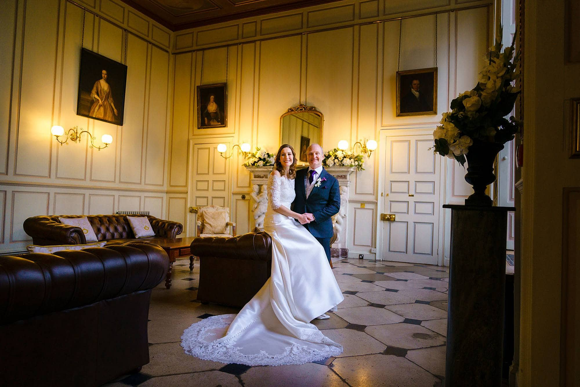 Gosfield Hall wedding venue photos of Ruth & Russell