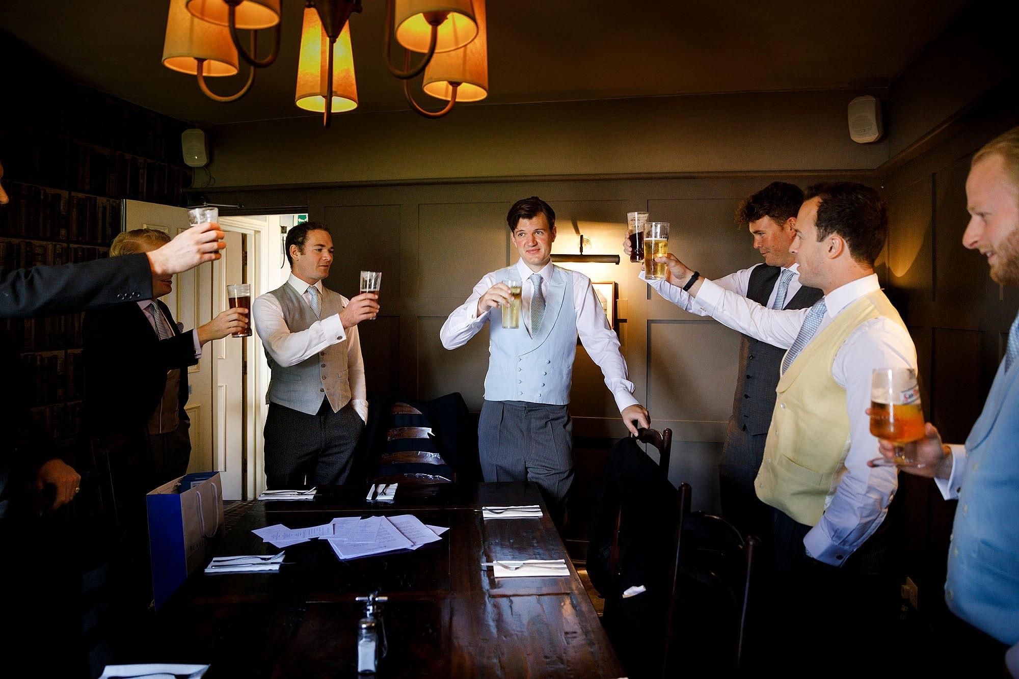 Anchor Inn Nayland wedding