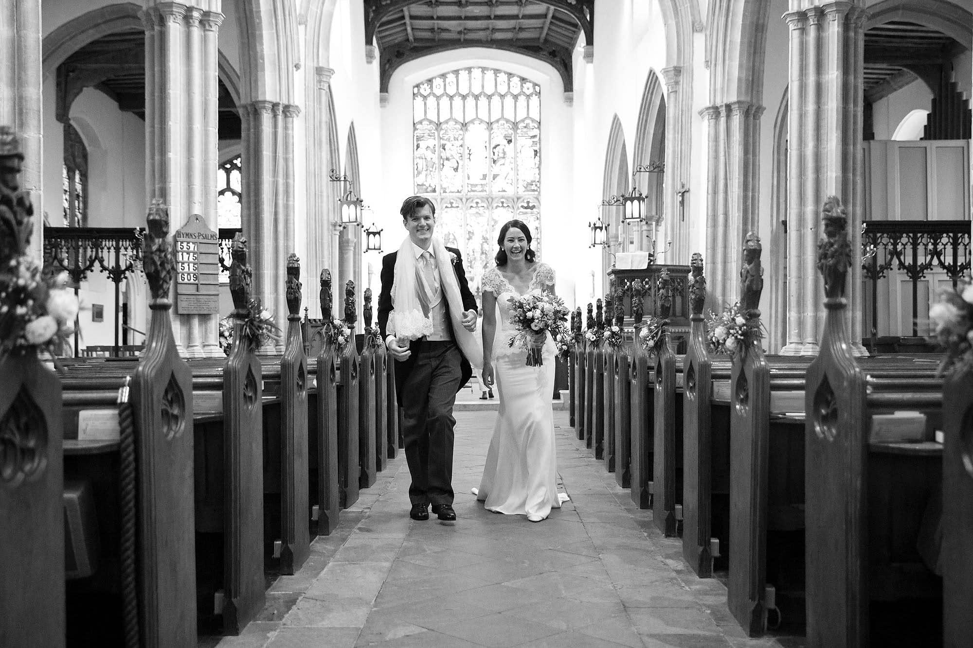 Stoke-by-Nayland Church wedding