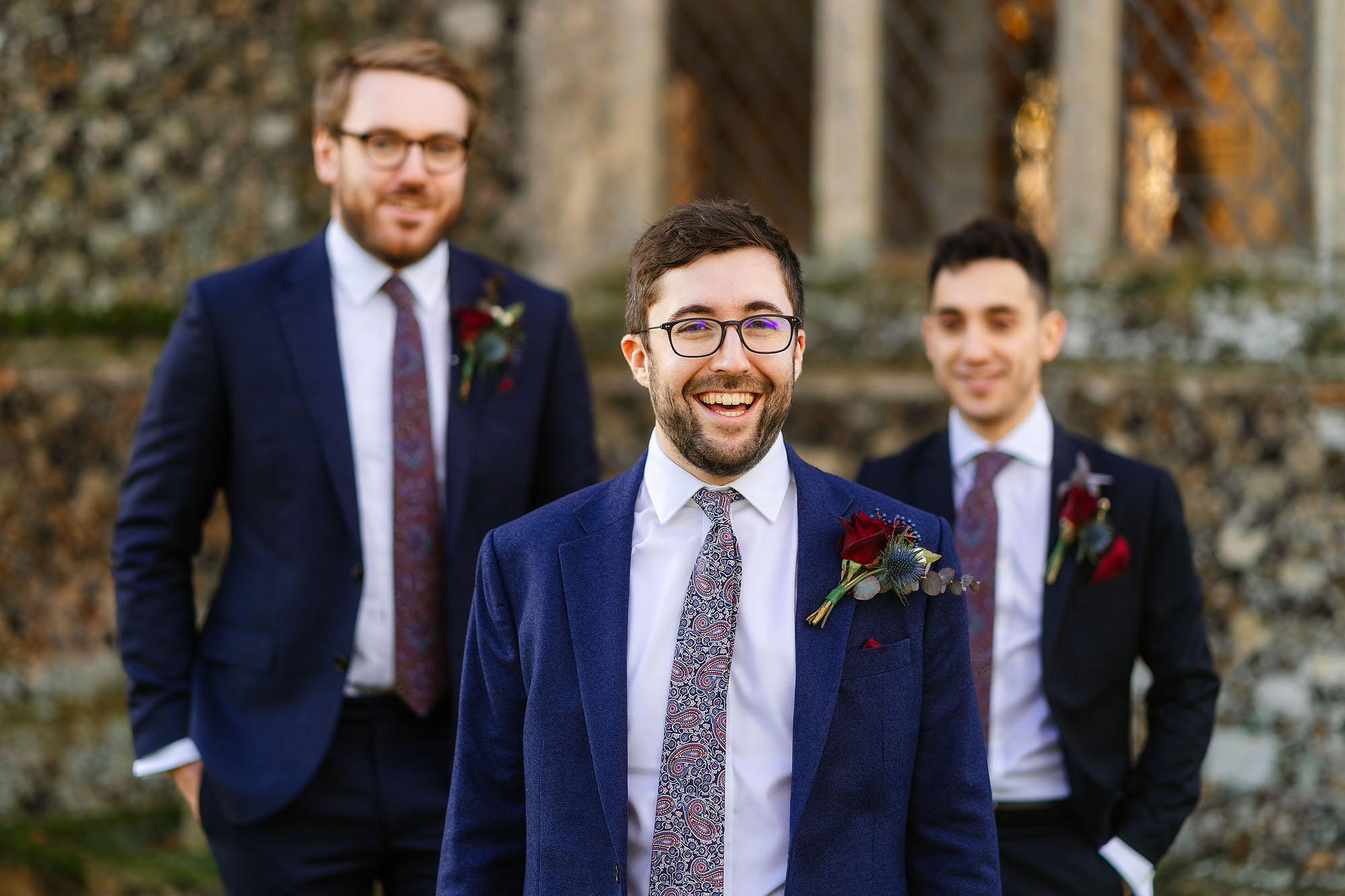 Blythburgh church groom