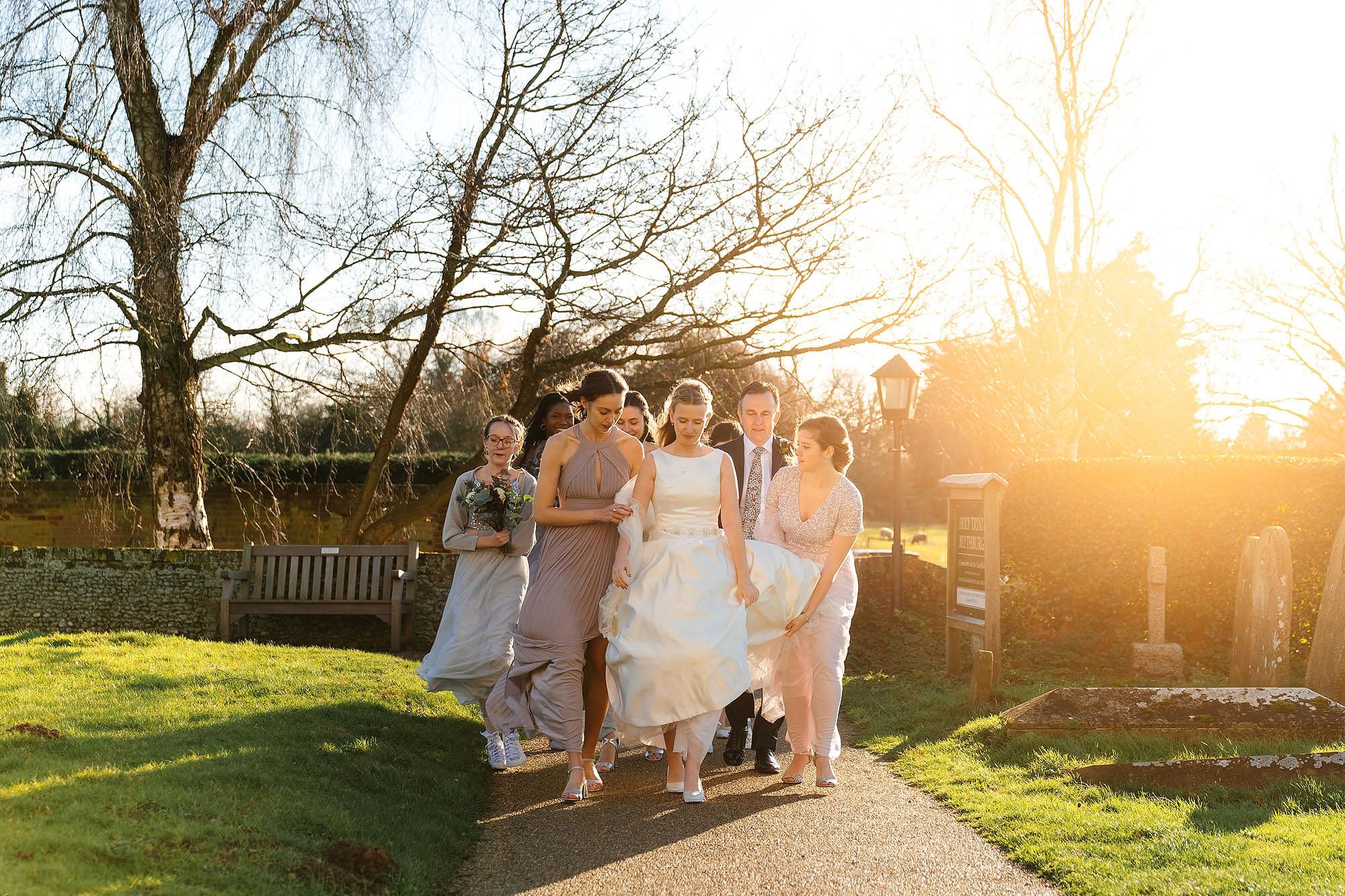Blythburgh church wedding