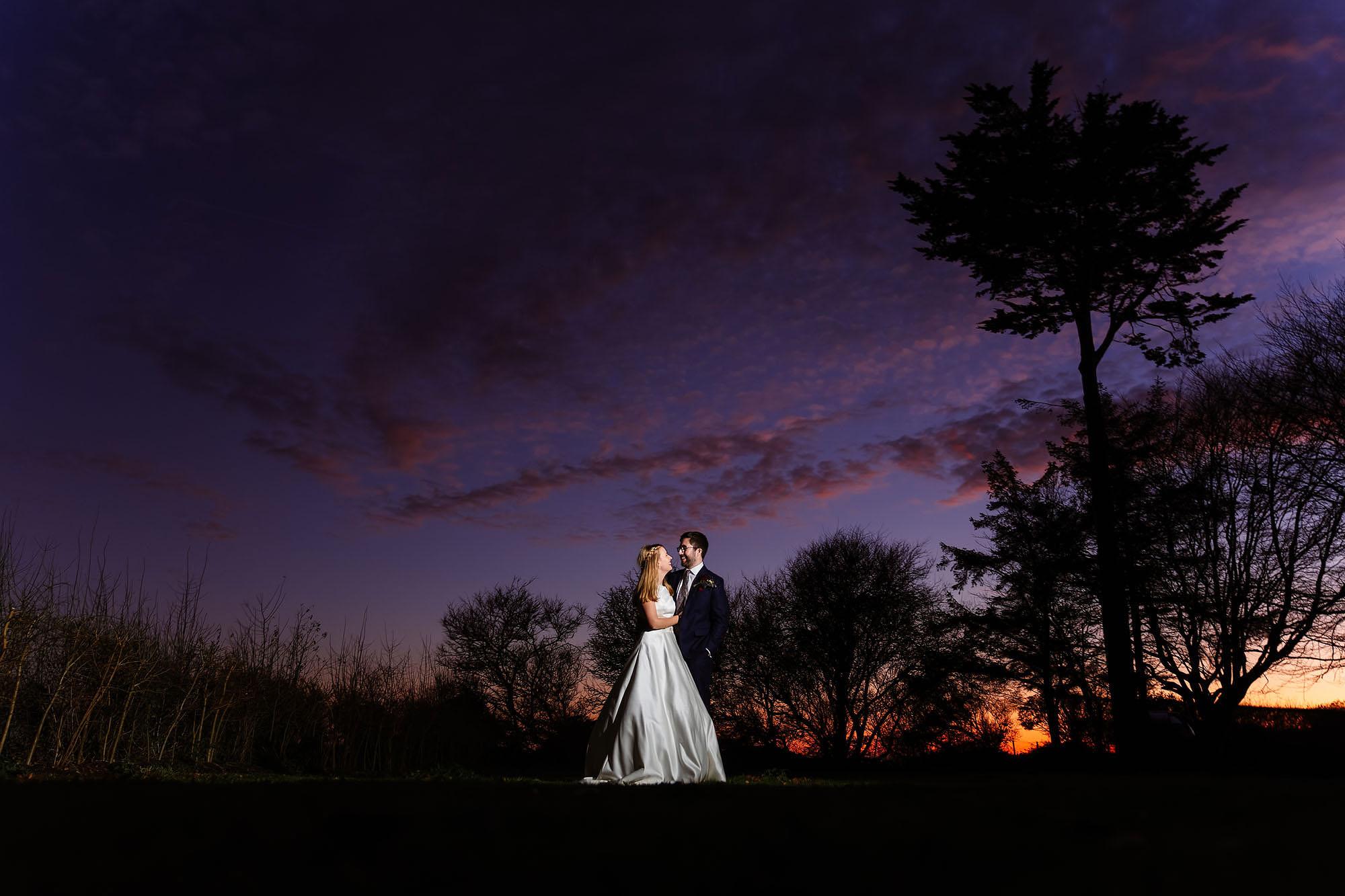 Blythburgh winter wedding photos