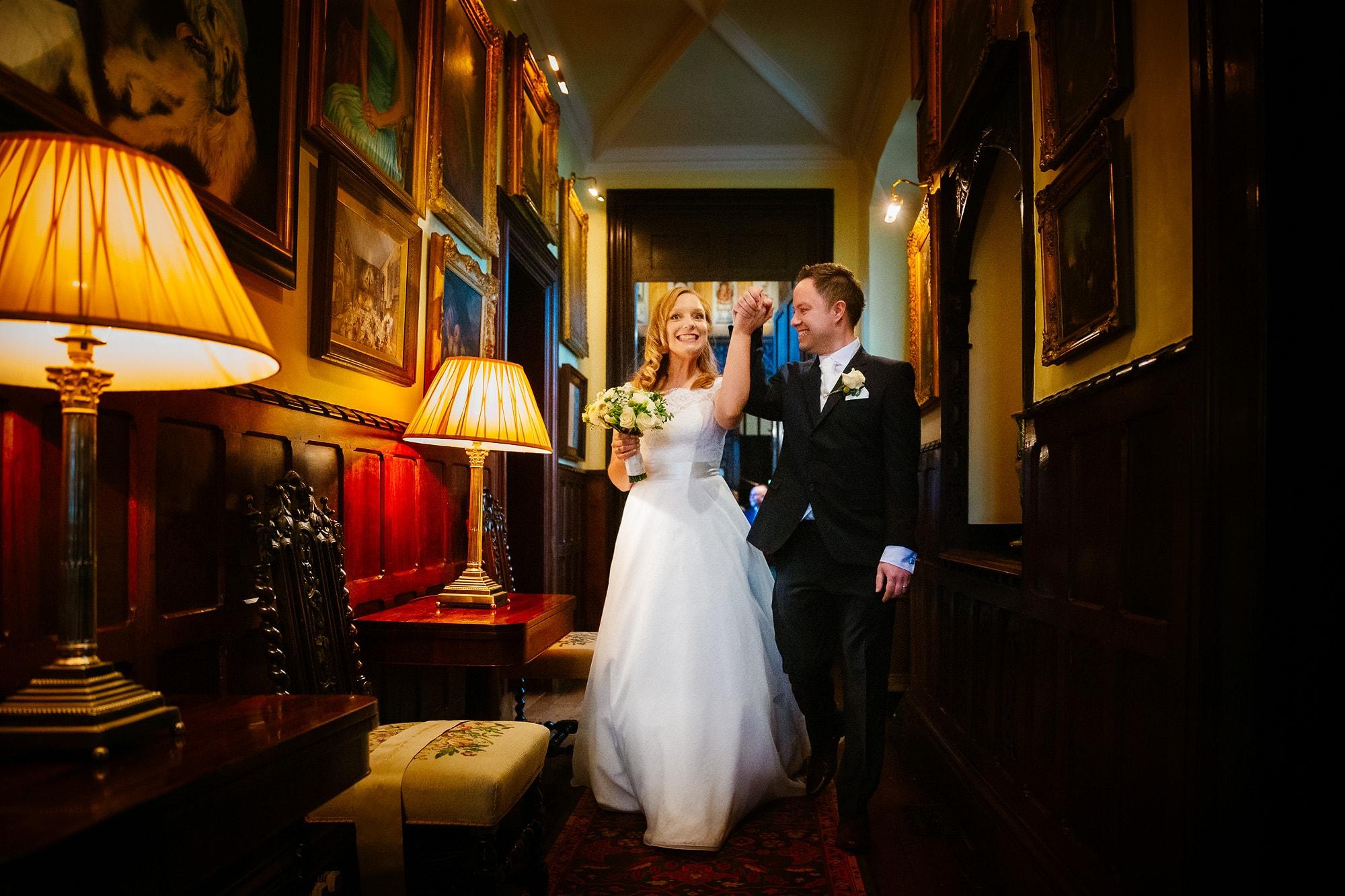 Loseley wedding photos of Fiona & Martin