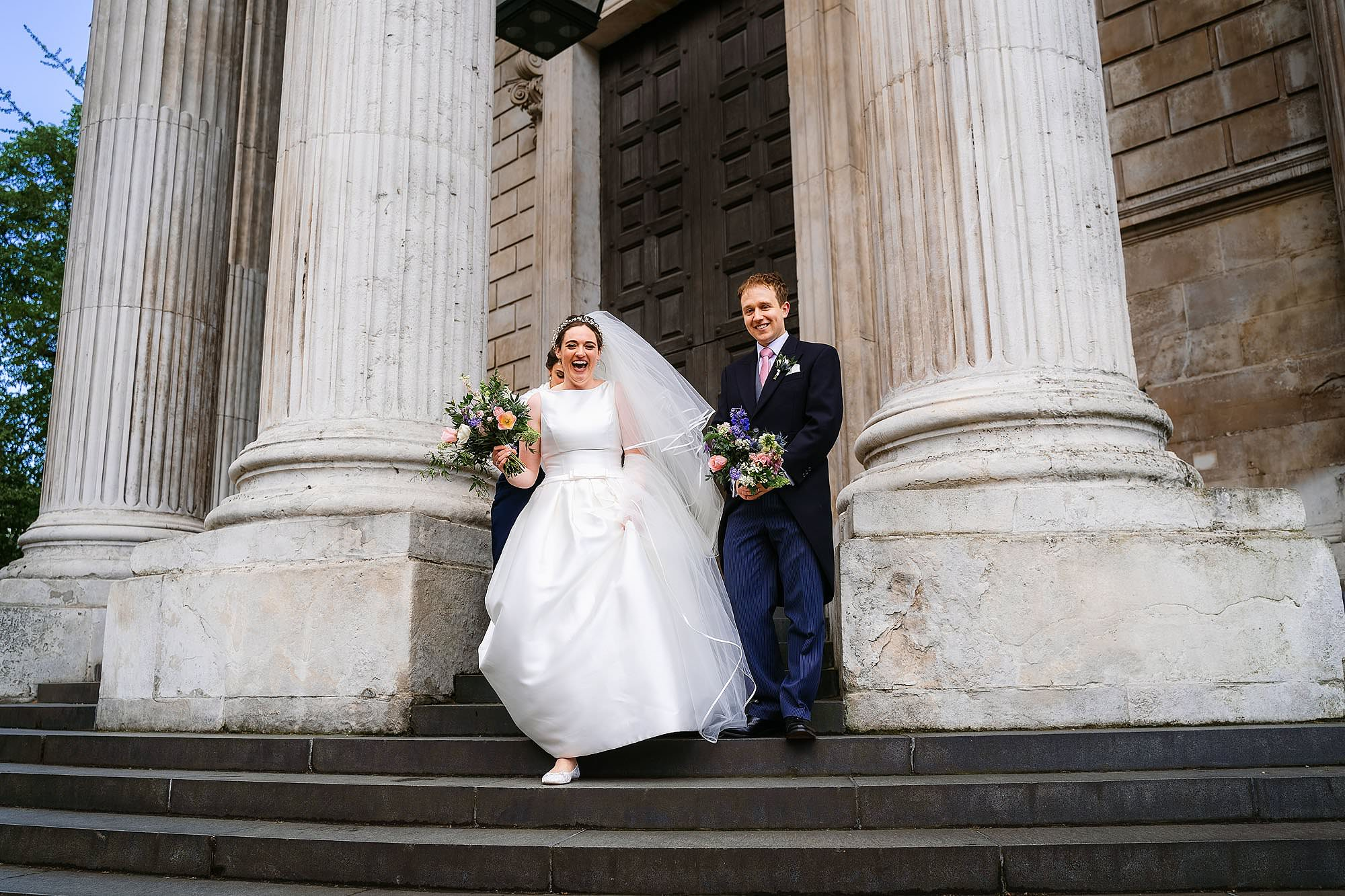 St Pauls Cathedral wedding photo