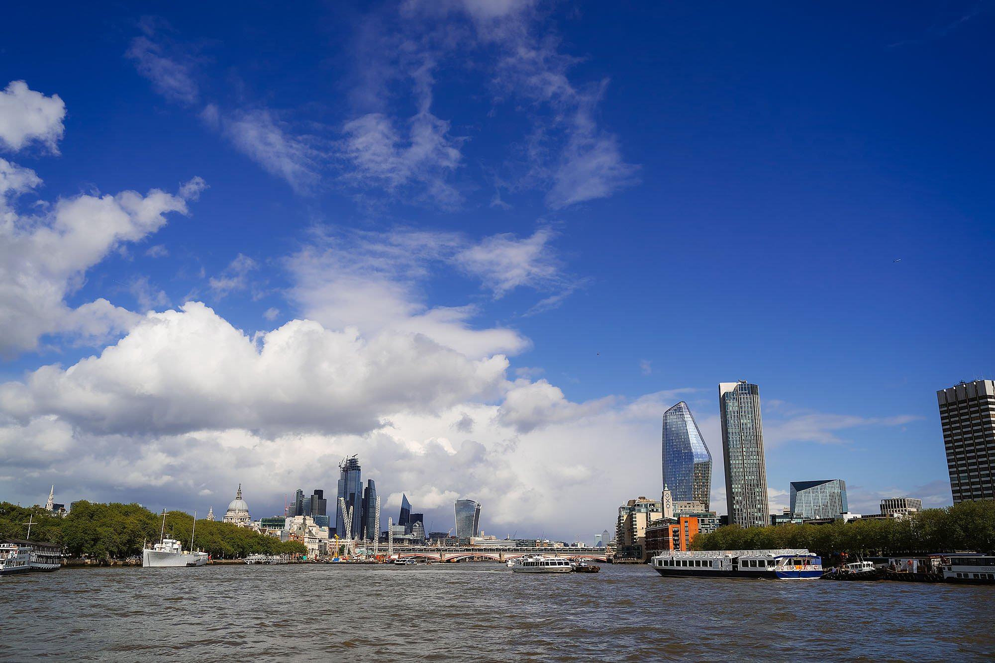 River Thames wedding
