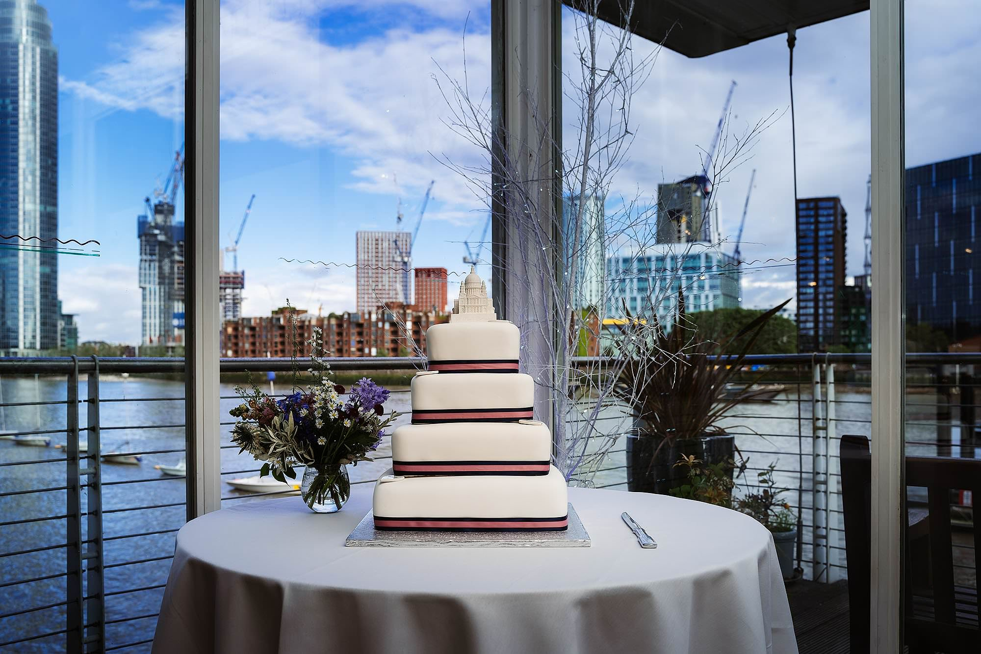 Westminster Boating Base wedding