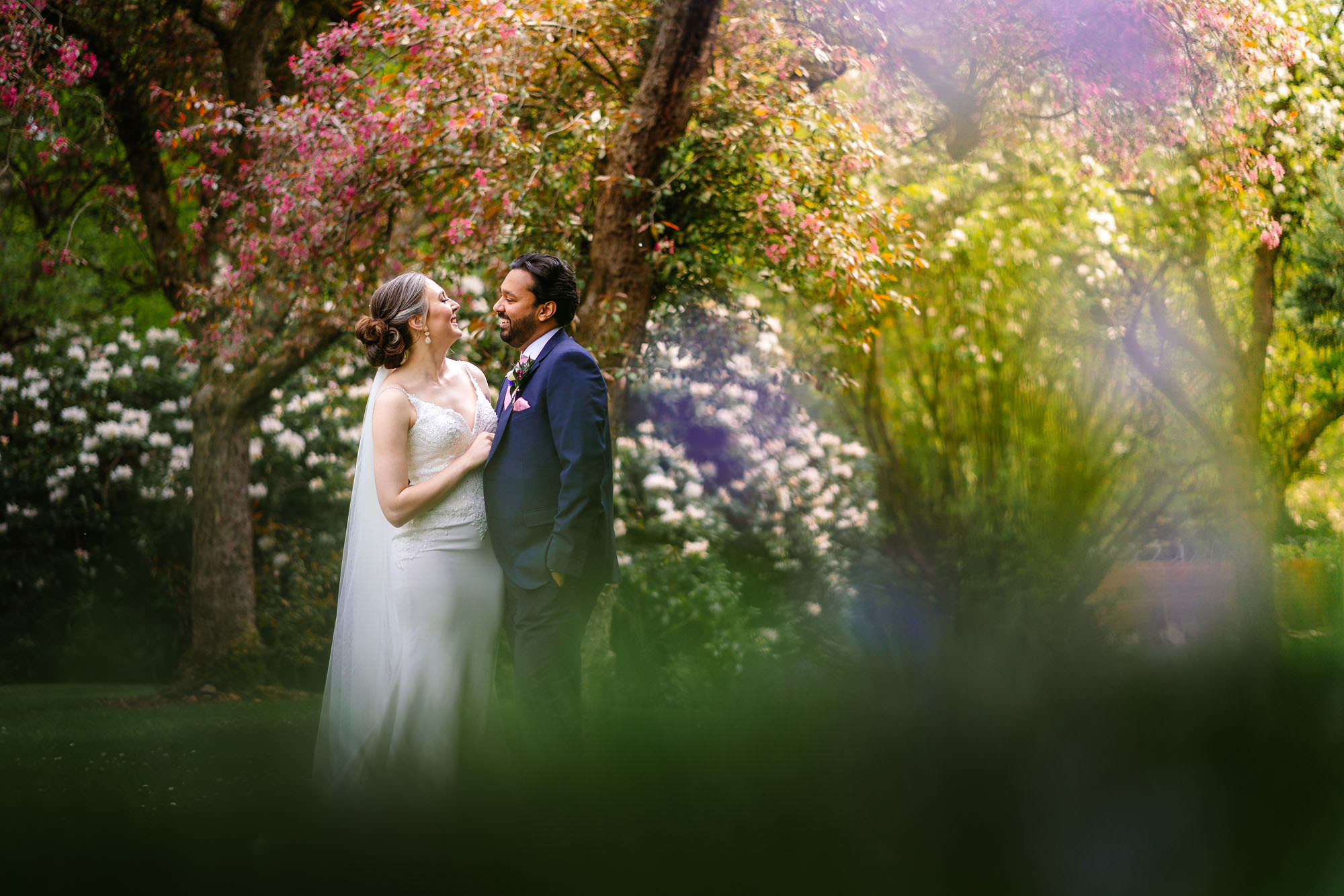 Emily & Dil's Covid mini wedding